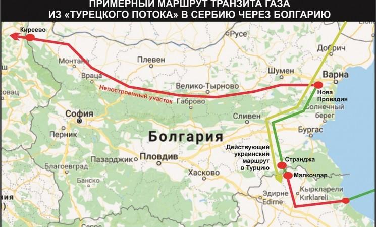 """България започна да получава газ по газопровода """"Турски поток"""""""