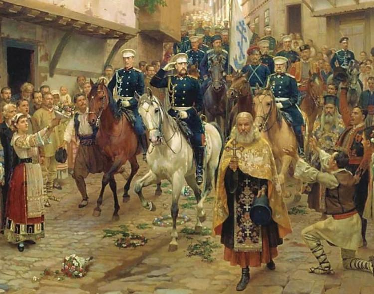В День освобождения Софии от османского ига к памятникам героям возложили венки и цветы